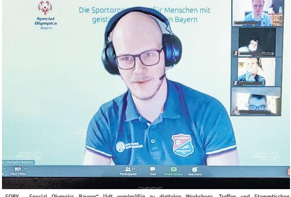 Handicap egal - Sport geht digital Bild